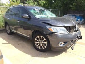 Nissan Pathfinder Total Loss