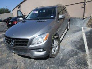 2012 Mercedes ML350