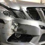 Mercedes E350<br>Total Loss